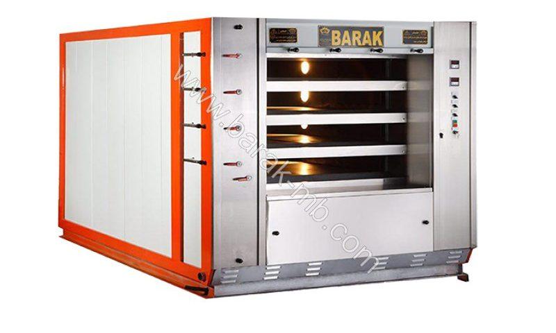 Floor oven for fantasy bread