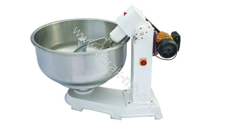 Mixer for bread flour