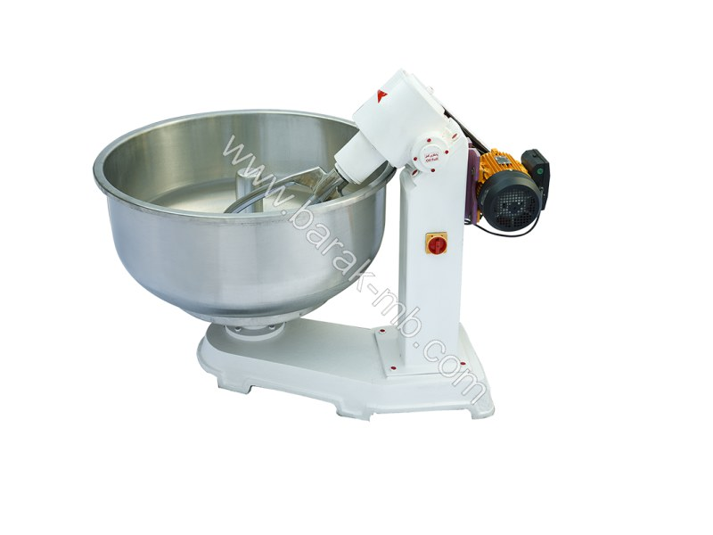 Mixer for bread flour